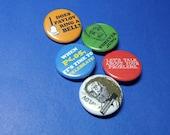 Psychology Geek #2 Pinback Button Set (or Magnets)