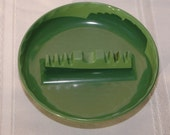 Ges-Line 341 Mid Century Melanine Ashtray Green