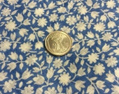 1 Vintage Yard Cotton 36 In Selvage--Semi-Transparent