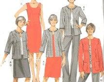 Butterick B5719 Sewing Pattern, 18w, 20w, 22w, 24w, Ladies Lifestyle Wardrobe