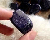 BLUE GOLDSTONE Polished Tumbled Crystal Premium Quality Pocket Gem Stone
