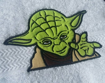 star wars towel yoda star wars bathroom