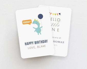 bookplate label 8 piece set // gift label // sticker // favor tag // insert // baby shower // bridal shower // birthday