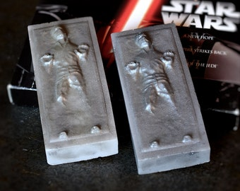 Star Wars Han Solo Carbonite Soaps Set of 2