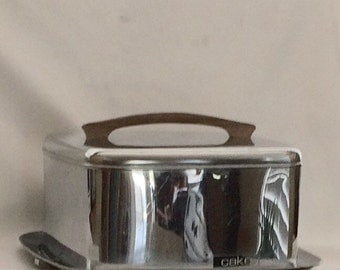Vintage Lincoln Beautyware Chrome Carrier