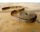 Vintage tape measure, 2 yards measurement tape, Antique tape measure, 2 yards of old tape measure, Vintage number tape, Old tape measure