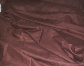 Vintage Chocolate Brown Linen - Yardage - Sewing - Decorating - Heavy