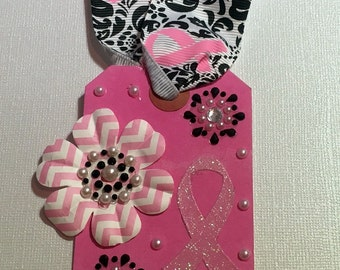 MOTHER Breast Cancer Tag or Bookmark