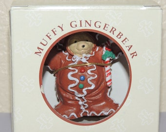 Muffy Vanderbear Muffy Gingerbear Ornament