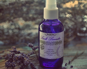 Organic Lavender Facial Toner all skin types including oily and problem 4 oz