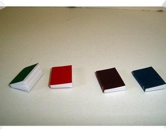 Miniature Books/ Set of 4 / Minis/ Supplies*