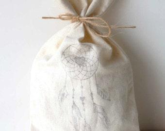 DREAMCATCHER Party Favour Bags - Boho party, Dream catcher, magic, party bags, dream party bags x 10