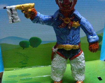 Wolf-Clown Figurine(MC 2)*Made To Order*