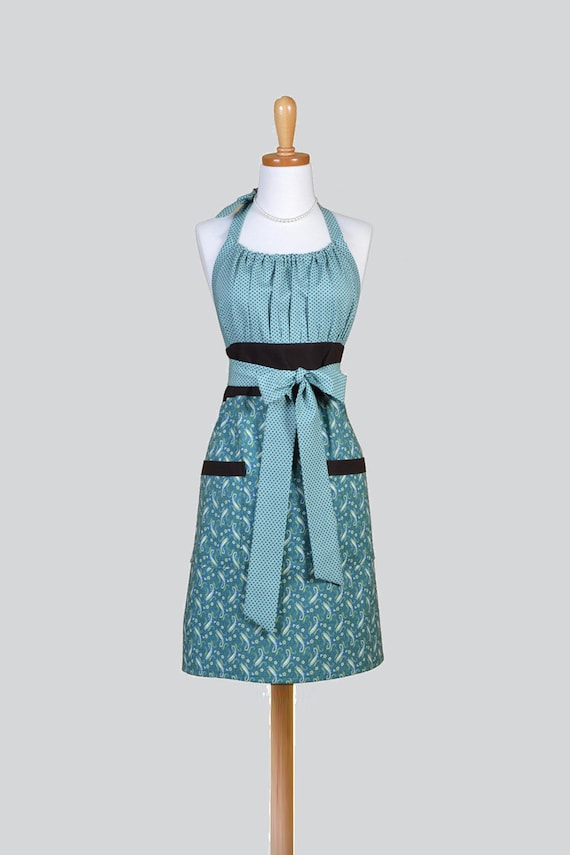 Cute Kitsch Retro Aprons Full Kitchen Cooking Womans Apron
