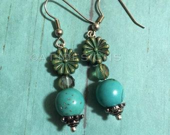 Beaded Dangle Earrings