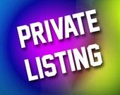 Private listing for ebujdos1  16x16 Baseball Home Plate custom team name