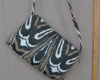 Stylish Animal Print Crossbody Bag