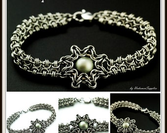 Enya Bracelet Tutorial - Chainmaille Jewelry PDF