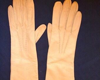 Genuine Deerskin vintage gloves, Size 8