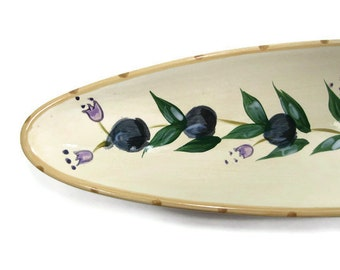 Olive Boat Olive Tray Olive Seving Dish or Bread Tray