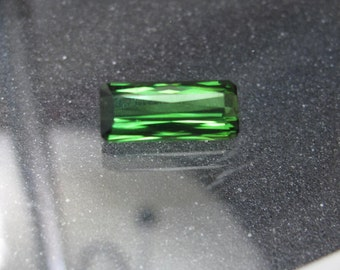 Faceted Green Tourmaline