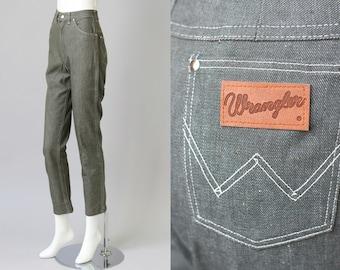 Deadstock 1960s Wranglers High Waist Skinny Jeans XS