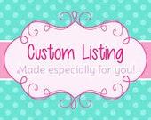 Custo Listing for Allison Jameson