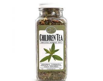 Organic Children's Tea, the best tea for children Ages 2 and up GMO-free NEW packaging!