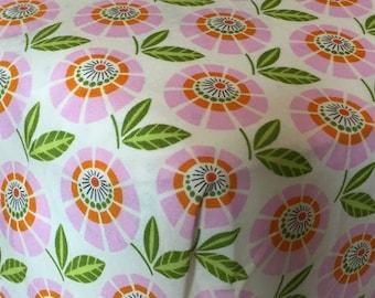 Up Parasol Stella Pink Crib Sheet
