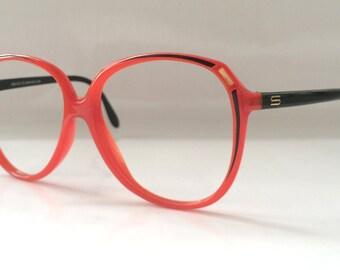 70s Vintage Austrian Silhouette Art Deco Painting Ladies/Child Eyeglasses