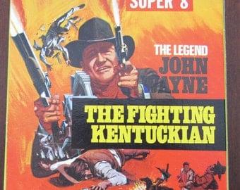 Great Vintage John Wayne Super 8 Movie Reel-The Fighting Kentuckian