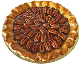 Fake Pecan Pie Table Décor – Pie Prop
