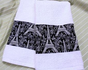 Paris Bath Towels Etsy