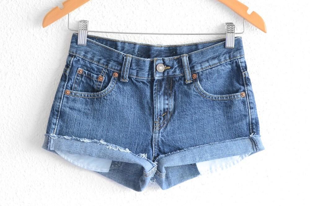levis high waisted shorts size 0 shorts vintage levi high. Black Bedroom Furniture Sets. Home Design Ideas