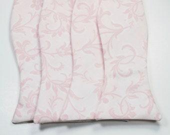 Blush Bow Tie Wedding Bow Tie Mens Bow Ties Pink Bow Ties Custom Bow Ties Light Pink Bow Ties
