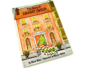 The Story of Zachary Zween by Mabel Watts 1967 / A Boy Who is Always Last in LIne / Vintage Childrens Book