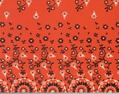 Stonington Bandana Scarf Country Western Fabric in Lobster Red