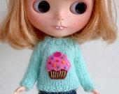 BLYTHE cupcake mohair sweater