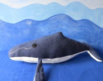 Humpback Whale Plush, Whale Plush, Whale Plush, Toy Whale