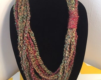 Infinity Loop Scarf Necklace