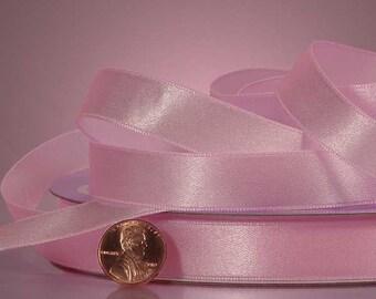 "1/4"" Satin Ribbon - Light Pink"