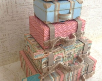 Stacked Suitcases PDF Tutorial