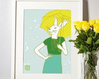 Carococo Artprint by Carol-Anne Pedneault /Let the sunshine in/ 8x10
