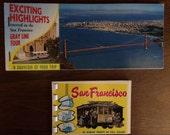 Set of 2 Vintage San Francisco postcard albums- Gray Line Bus Tours