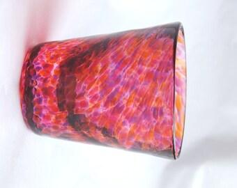 Shot glass in Sunset