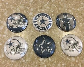 Handmade- Dallas Cowboys Mangets (set of 6)
