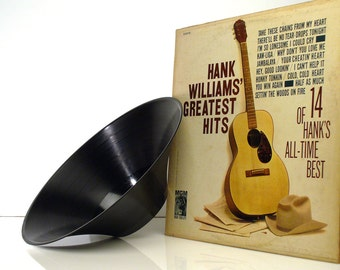 The Hank Williams Greatest Hits GrooveBowl