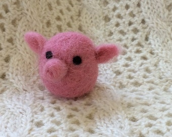 Alpaca Needle Little Pink Pig