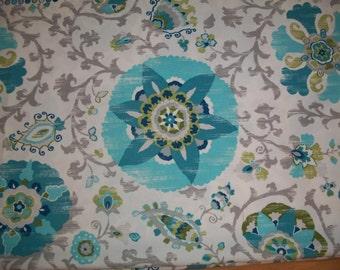 2 1/2 Yards Braemore Aruba Patterned Fabric