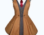 Doctor Who Tenth Doctor Cosplay Apron Made to order